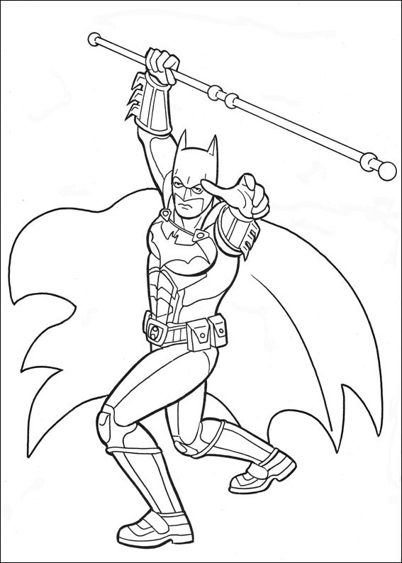 Batman 045 coloring page