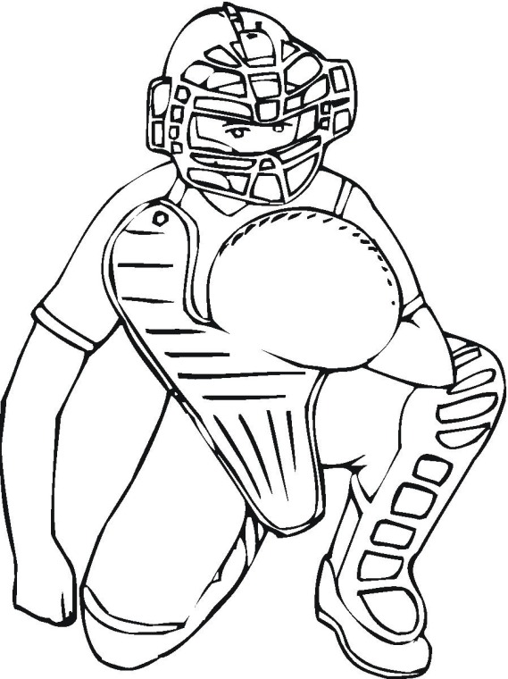 free printable coloring pages baseball 2015