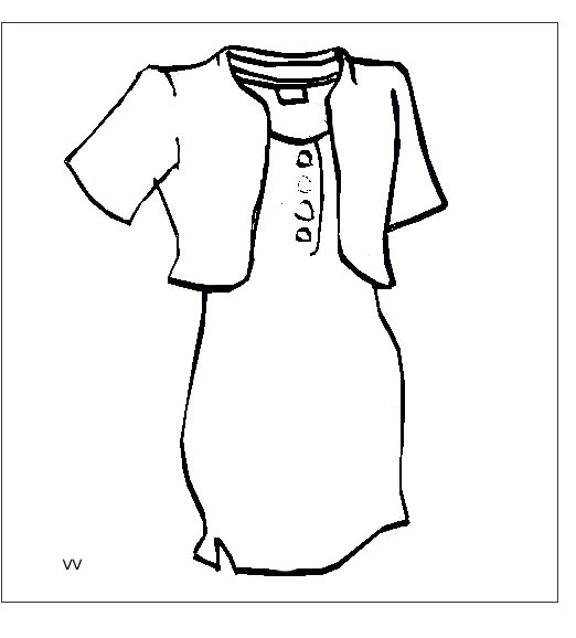 dress_8 Teens and adults coloring pages