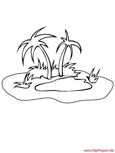 Island free coloring sheet