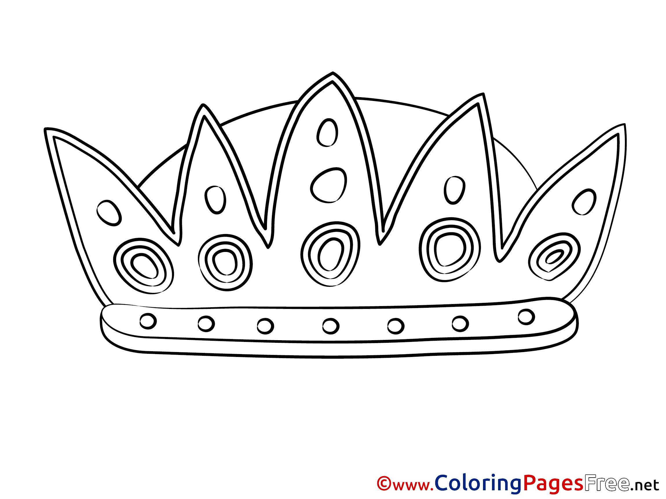 Corona Coloring Pages for free