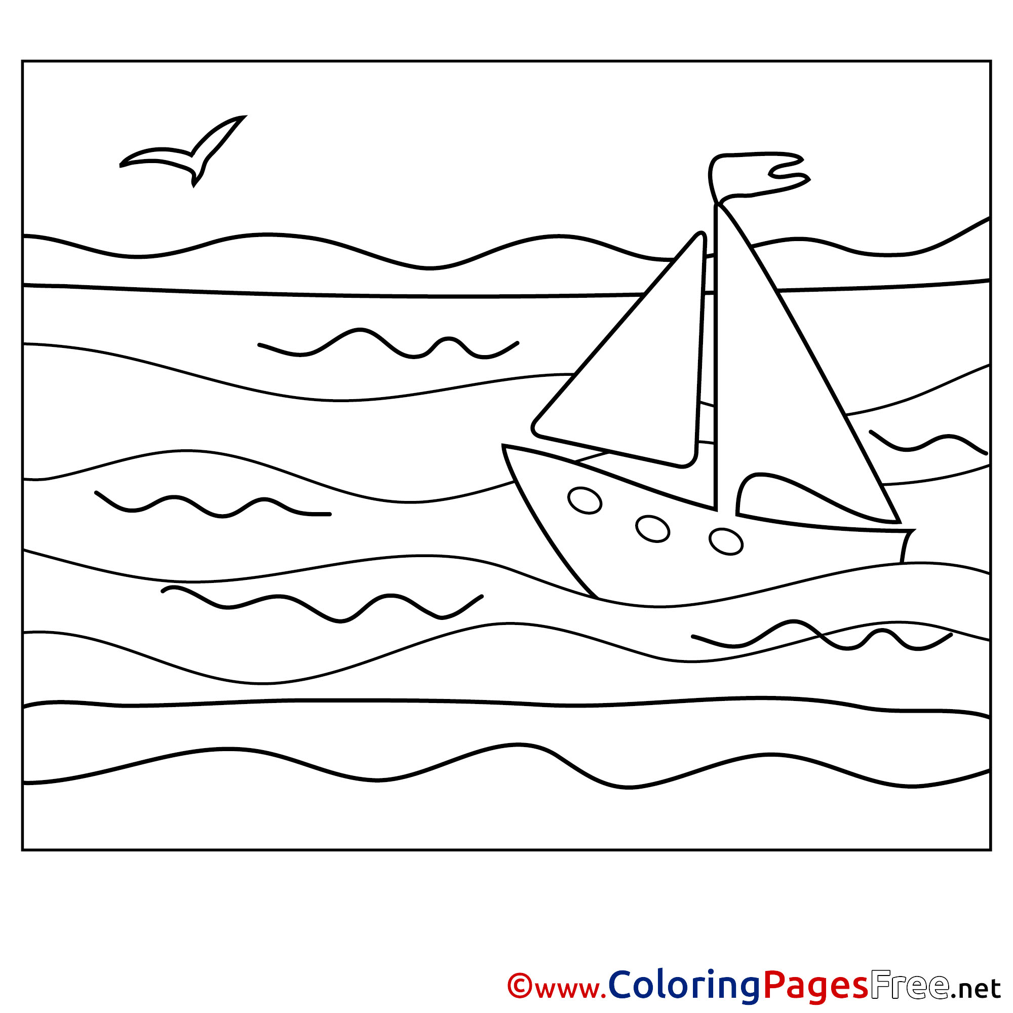Sea Nymph Pages Coloring Pages