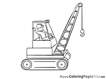 Work coloring pages