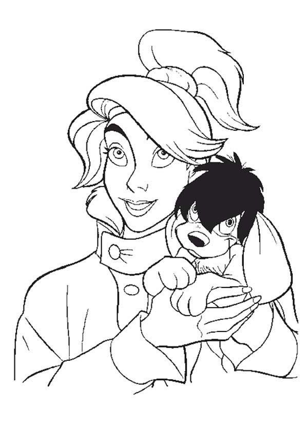 Anastasia Love Pooka Very Much Coloring Page : Coloring Sky