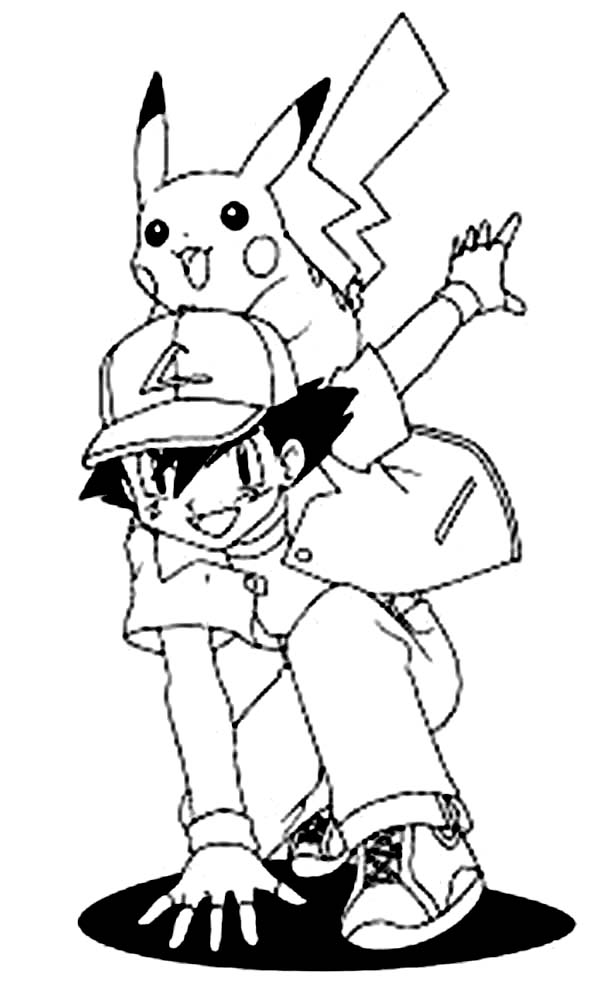 Ash Ketchum And Pikachu Is Ready For Another Adventure On