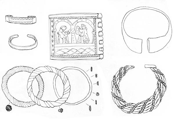 Bracelets Jewelry Collections Coloring Page : Coloring Sky