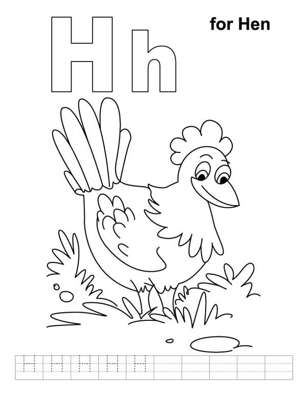 Little Red Hen Pages Fox And Duck Coloring Pages