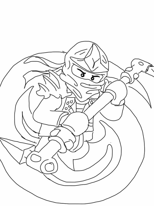 Ninjago Lego Coloring Page For Kids : Coloring Sky