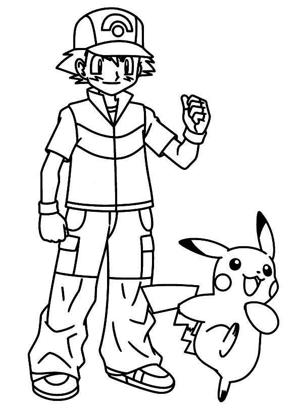 Pikachu Take Ash Ketchum for Great Journey on Pokemon