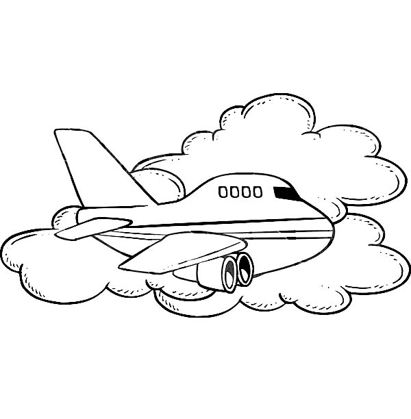 aeroplane airport Colouring Pages (page 2)