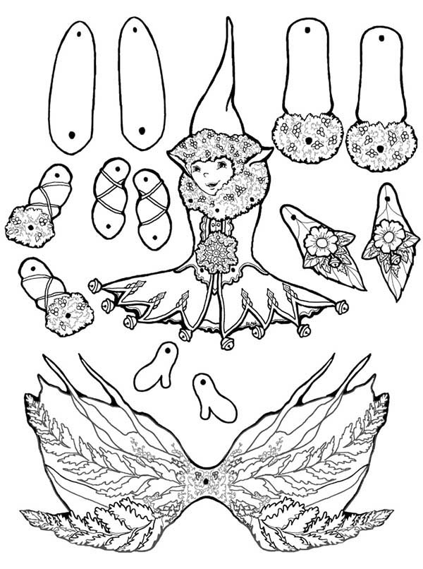 Indian Puppets Colouring Pages Sketch Coloring Page