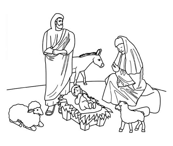 """Search Results for """"Nativity Scene Colouring Sheet"""