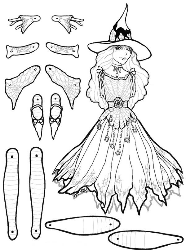 Marcella Puppet Part Coloring Page : Coloring Sky