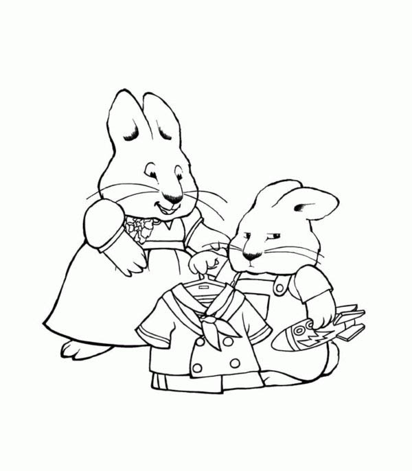 Max Did Not Like His Sailor Uniform in Max and Ruby