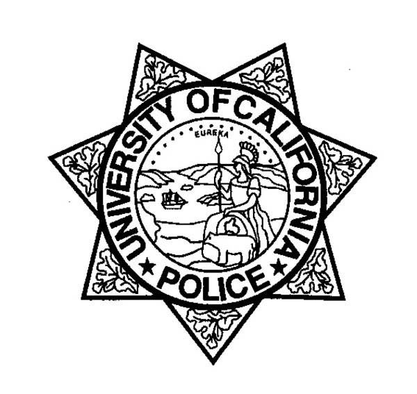 Seven Point Stars Badge Coloring Page: Seven Point Stars