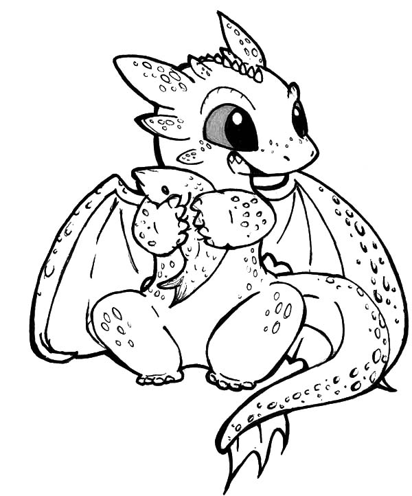 coloring pages dragon # 53