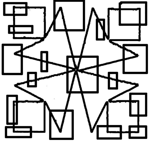 Cubism Abstract Coloring Pages : Coloring Sky