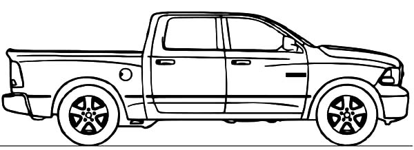 Viper Car Coloring Pages