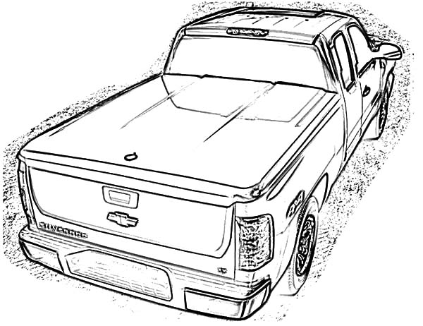 2015 Dodge Ram Coloring Pages