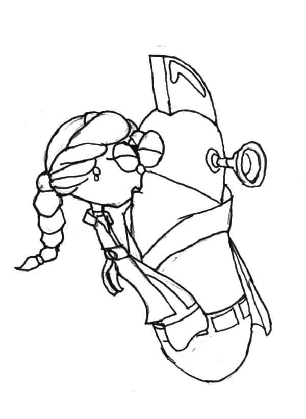 Larry Boy Kissing Petunia Coloring Pages : Coloring Sky