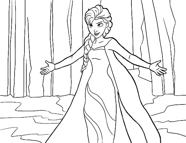 Let It Go Coloring Sheets Coloring Pages