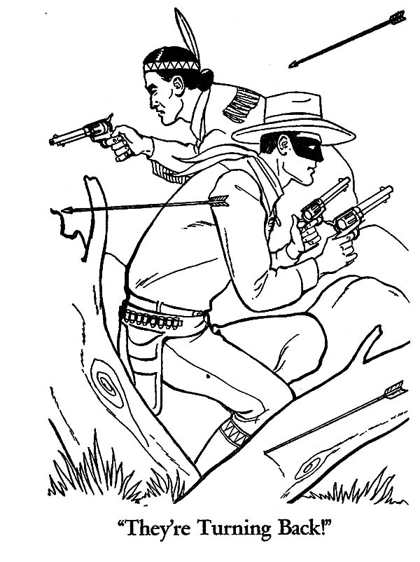 Outlaw Hunting Coloring Pages : Coloring Sky