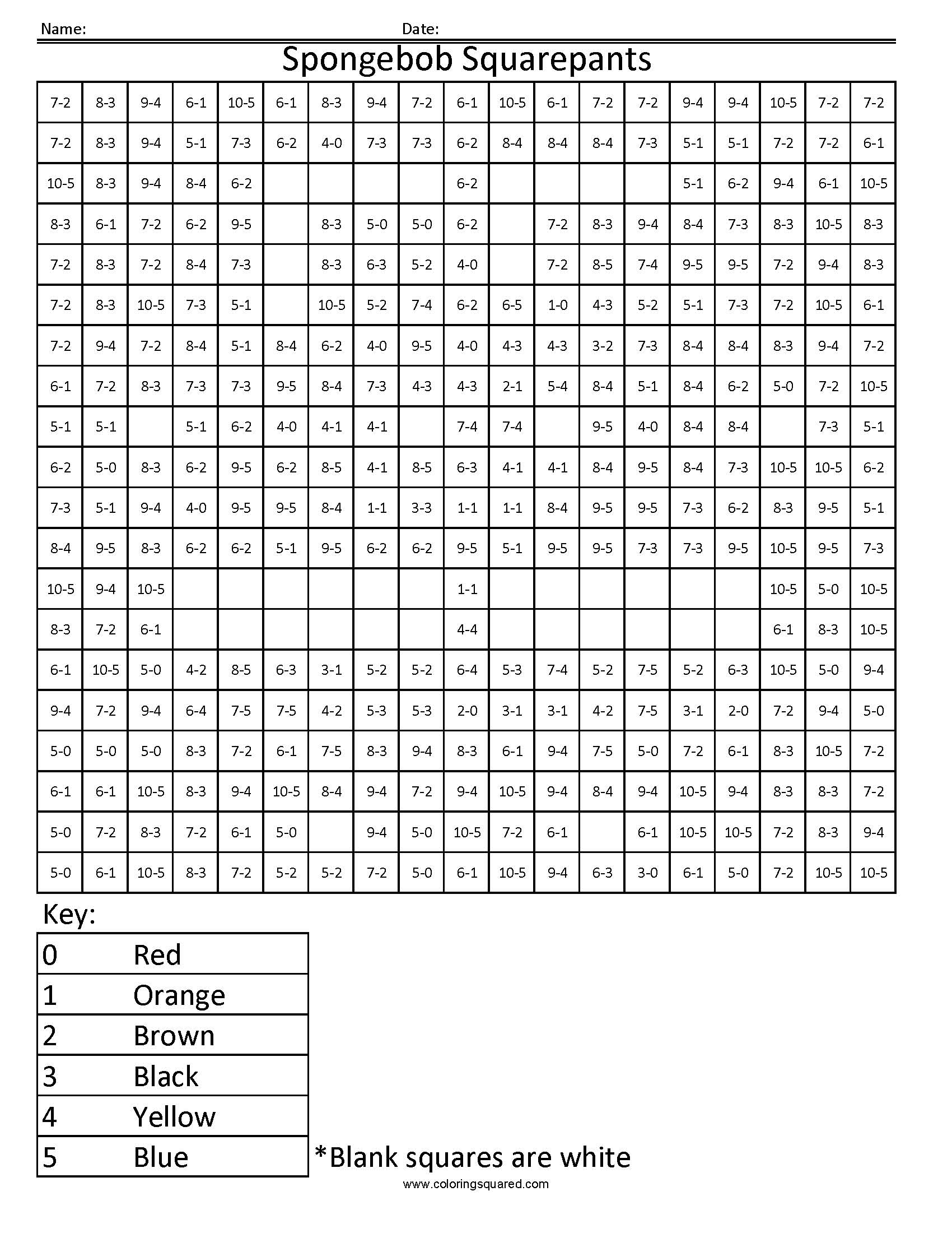 Printable Division Worksheets Grade 4