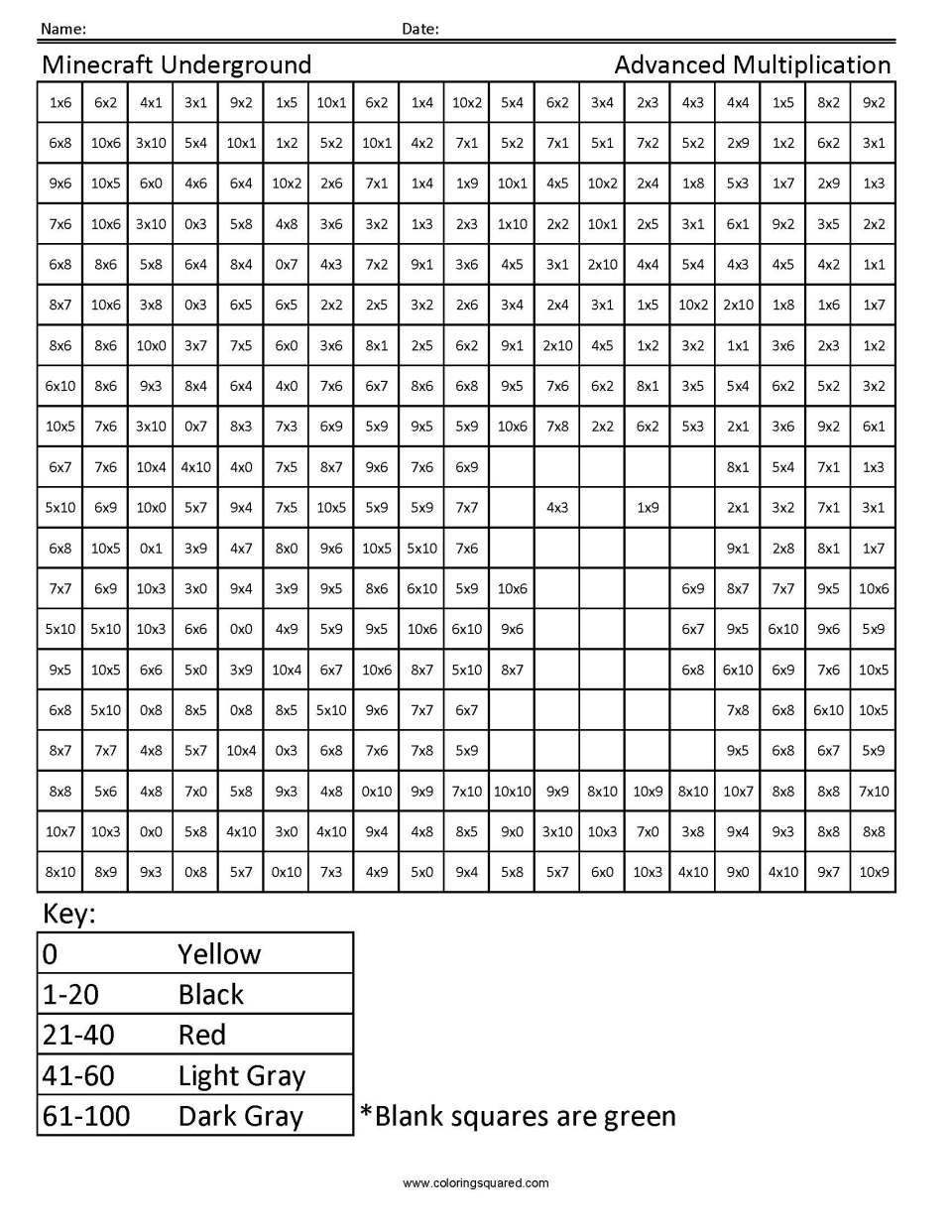 Image Result For Super Math Worksheets Multiplication