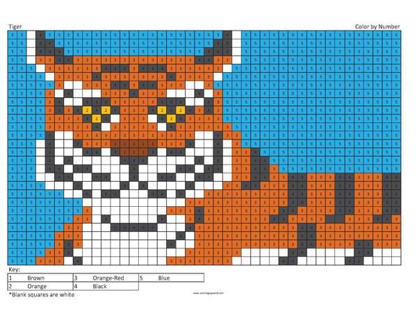 Megapixel Coloring Coloring Squared