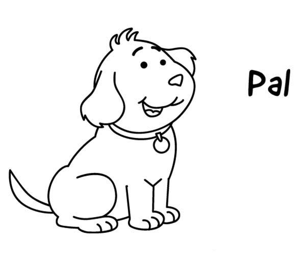 Puppy Pals Coloring Pages Coloring Coloring Pages