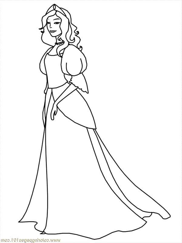 medieval clothing coloring pages