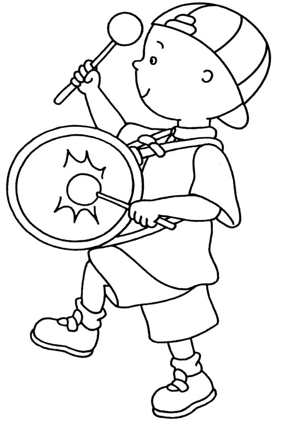 Marching Band Printable Coloring Pages