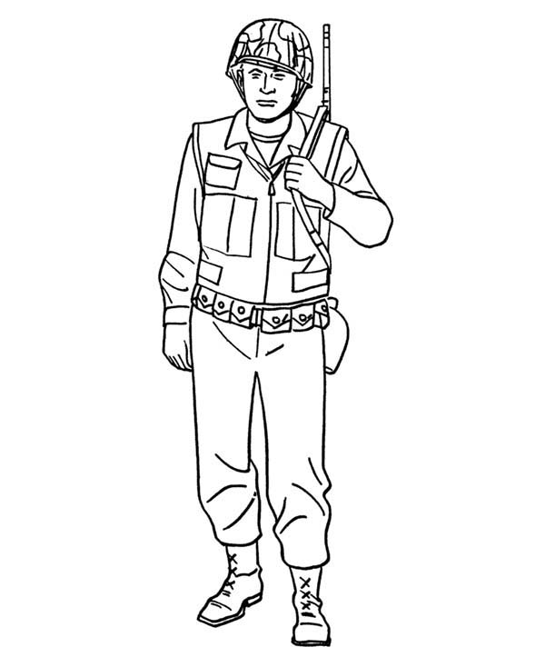 Military Welcome Home Pages Coloring Pages