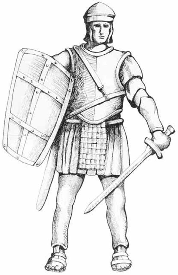 Armor Of God Tattoo Coloring Pages