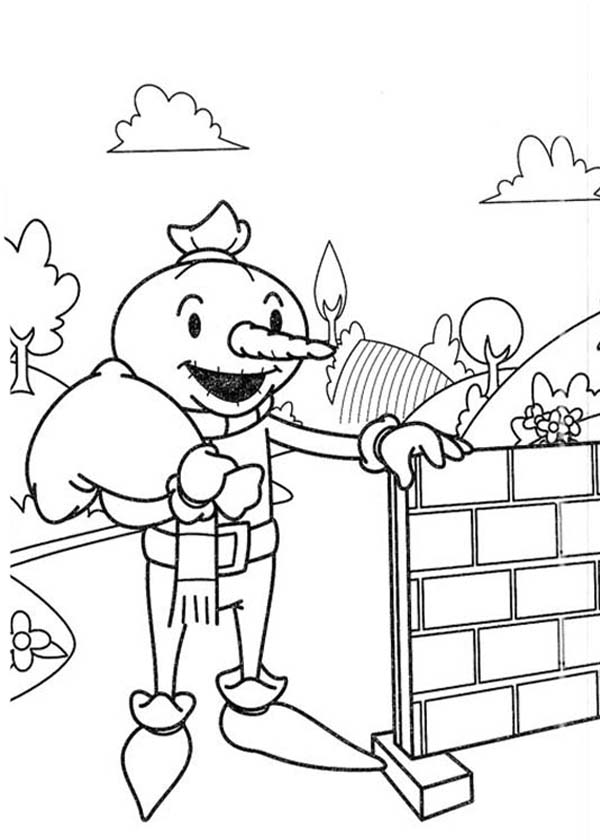 Bob The Builder Coloring Page Tv Series Coloring Page