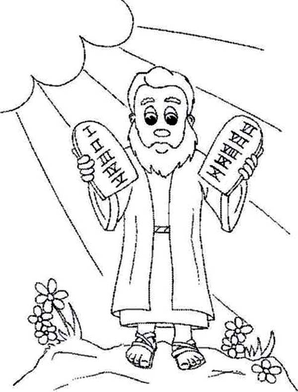 6th Commandment Coloring Sheet Coloring Pages
