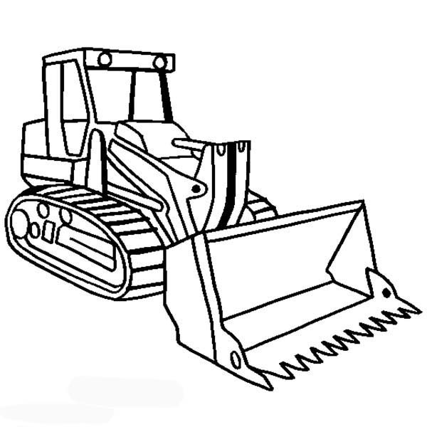 Truck Loader Coloring Pages Coloring Pages