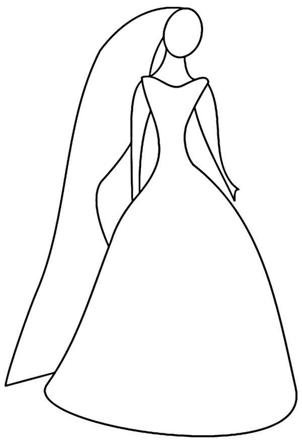 Free coloring pages of fancy dresses