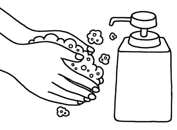 Free coloring pages of sink