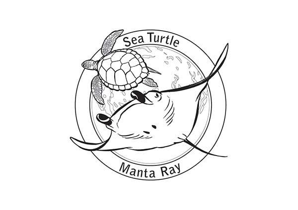 Graceful Manta Ray Coloring Pages: Graceful Manta Ray