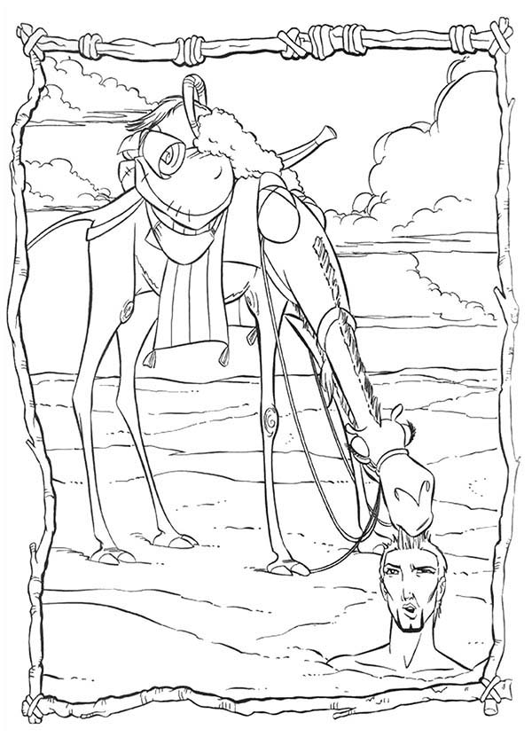 Israelites Wandering Coloring Page Coloring Pages