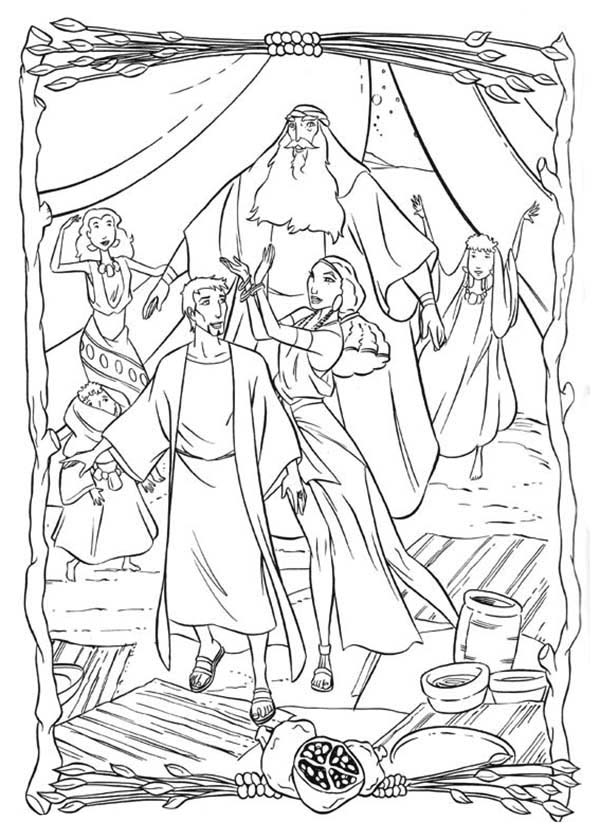 Moses Before Pharaoh Coloring Pages Coloring Pages
