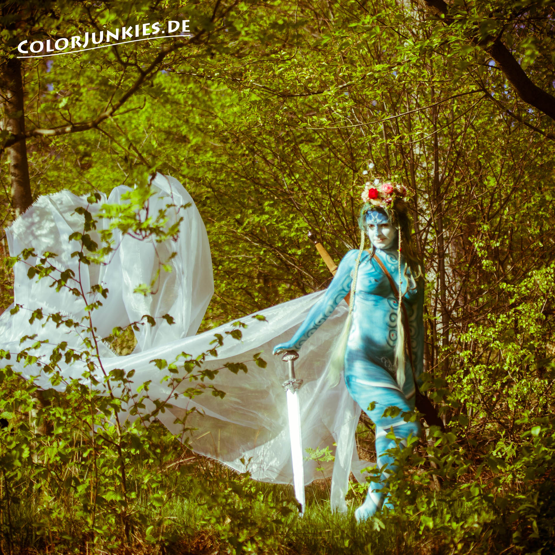 Colorjunkies  Bodypainting Fee