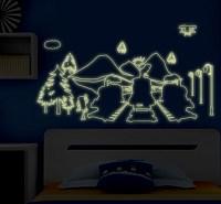 Thomas & Friends Glow in The Dark Wall Sticker [wsABQ9614 ...