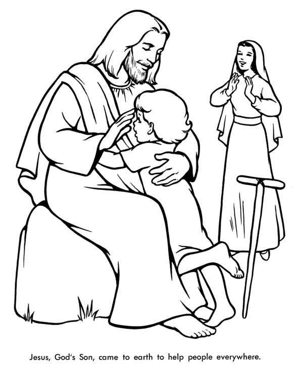 Love All People Coloring Sheet Coloring Pages