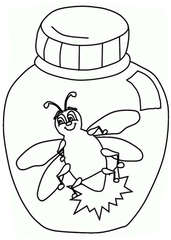 Firefly Firefly Clapping Hands Coloring Page Firefly