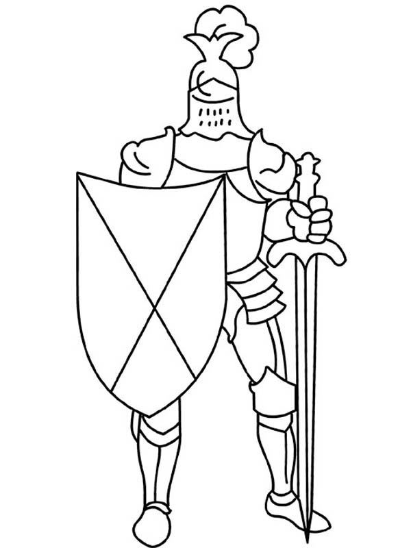 Sword And Shield Coloring Pages Coloring Pages