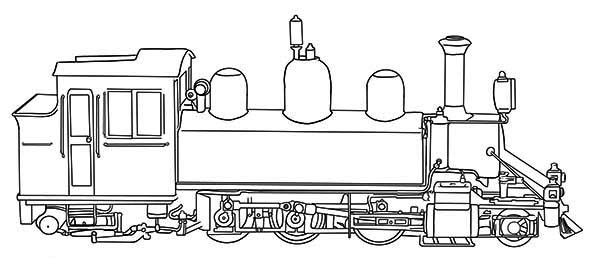 Drawing Locomotive Steam Engine Within Diagram Wiring And