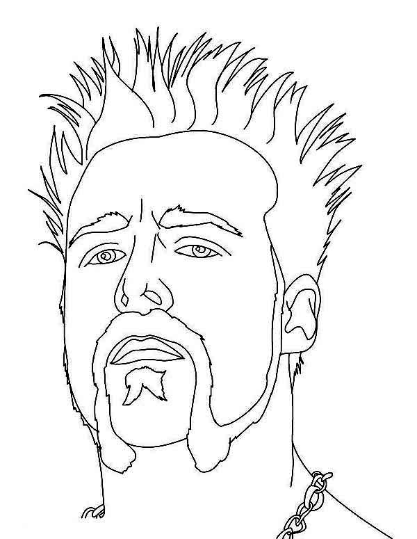Rollins Wwe Coloring Pages Seth