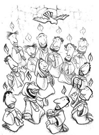 Day Of Pentecost Coloring Pages Day Of Pentecost